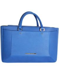 Roland Mouret - Electric Blue Leather Tote Bag - Lyst