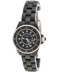 Chanel - Ceramic J12 Women's Wristwatch 33mm - Lyst