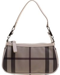 Burberry - Smoked Check Pvc Small Aston Shoulder Bag - Lyst