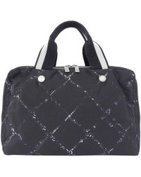 Chanel - Nylon Old Travel Line Satchel Bag - Lyst