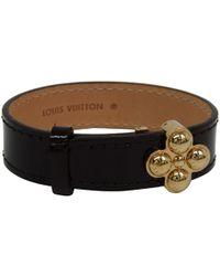 Louis Vuitton - Amarante Monogram Vernis Bloom It Bracelet - Lyst