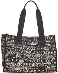 25fe962599ee Burberry The Small Buckle Tote In Two-tone Leather - Women