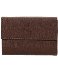 MCM - Leather Key Case - Lyst
