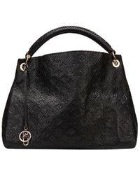 Louis Vuitton - Noir Python Limited Edition Artsy Mm Bag - Lyst