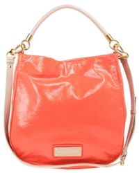 e72270248aa6 Marc By Marc Jacobs - Orange Leather Too Hot To Handle Hobo - Lyst