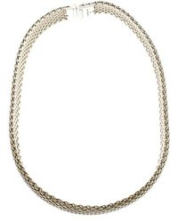 Tiffany & Co. - Somerset Mesh Choker Necklace - Lyst