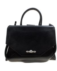 Givenchy - Leather Obsedia Top Handle Bag - Lyst