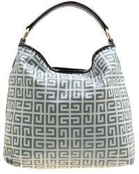 Givenchy Grey Cloth Handbag - Gray