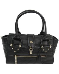 Burberry - Quilted Leather Manor Bag - Lyst
