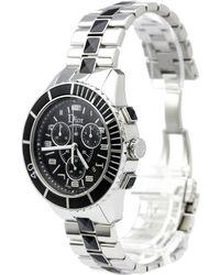 Dior - Stainless Steel Christal Men's Wristwatch 38mm - Lyst