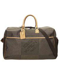 Louis Vuitton - Terre Damier Geant Canvas Souverain Duffel Bag - Lyst