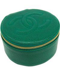 Chanel - Caviar Jewellery Case - Lyst
