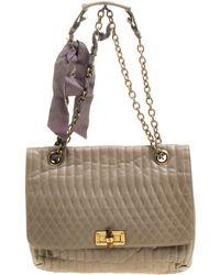 Lanvin - Leather Happy Shoulder Bag - Lyst
