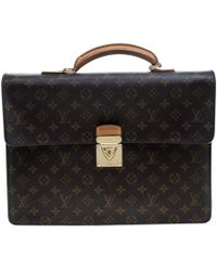 Louis Vuitton - Monogram Canvas Laguito Briefcase - Lyst