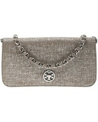 a679203e2bd5 Tory Burch Alexa Aged Vachetta Leather Shoulder Bag in Brown - Lyst