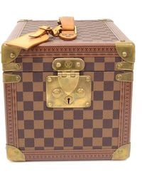 Louis Vuitton - Limited Edition Damier Ebene Canvas Boite Flacons Beauty Cosmetic Trunk Case - Lyst