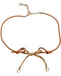 8349ecfa7b2581 Women's Dior Necklaces - Lyst