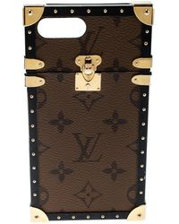 Louis Vuitton - Monogram Canvas Eye Trunk Iphone 7+ Case - Lyst