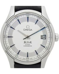 Omega - Stainless Steel De Ville Hour Vision Men's Wristwatch 41mm - Lyst