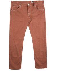 M Missoni - Burnt Denim Straight Fit Jeans L - Lyst