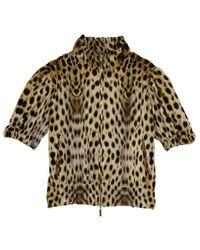Roberto Cavalli - Leopard Print Jacket M - Lyst