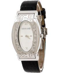 Roberto Cavalli Silver Stainless Steel Diana R7251118515 Women's Wristwatch 28 Mm