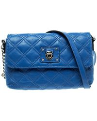 Marc Jacobs - Quilted Leather Day To Night Single Crossbody Bag - Lyst