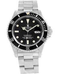 Rolex - Stainless Steel Submariner Date Men's Wristwatch 40mm - Lyst