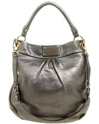 Marc By Marc Jacobs - Metallic Leather Classic Q Hillier Hobo - Lyst