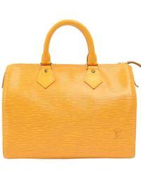 Louis Vuitton - Tassil Epi Leather Speedy 25 Bag - Lyst