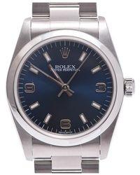 Rolex - Stainless Steel Oyster Perpetual Women's Wristwatch 29mm - Lyst