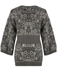 Chanel - And Black Cashmere Jumper Tunic M - Lyst