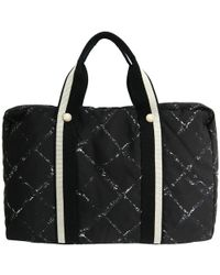 Chanel - Nylon Travel Line Briefcase - Lyst