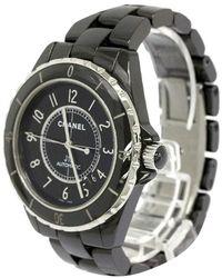 Chanel - Ceramic J12 Men's Wristwatch 41mm - Lyst