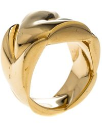 Louis Vuitton - Tone Chunky Ring - Lyst