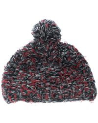 Chanel - Multicolor Cashmere And Wool Chunky Knit Pom Pom Beanie - Lyst