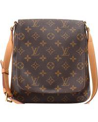 df8a3ac2709b Louis Vuitton  musette Salsa  Shoulder Bag in Brown - Lyst