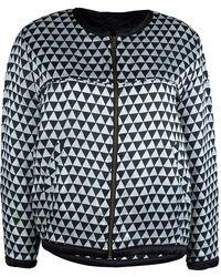 Isabel Marant - Etoile Monochrome Printed Reversible Jacket M - Lyst