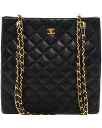 Chanel - Quilted Lambskin Vintage Shoulder Bag - Lyst