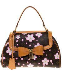 71caf57e6436 Louis Vuitton - Monogram Canvas Limited Edition Cherry Blossom Sac Retro Pm  Bag - Lyst