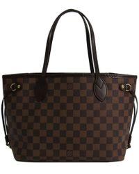 Louis Vuitton - Damier Ebene Canvas Neverfull Pm Bag - Lyst