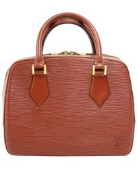 Louis Vuitton - Kenyan Fawn Epi Leather Sablon Bag - Lyst