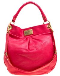 Marc By Marc Jacobs - Leather Classic Q Hillier Hobo - Lyst