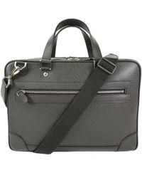 Louis Vuitton - Ardoise Taiga Leather Alexander Briefcase - Lyst