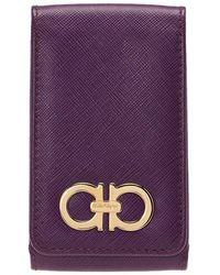 Ferragamo - Leather Iphone 4 Case - Lyst