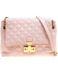 Marc Jacobs - Quilted Leather Baroque Shoulder Bag - Lyst