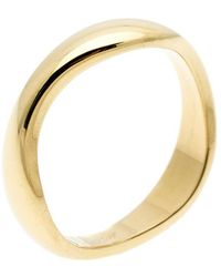 Cartier - Love Me 18k Yellow Gold Band Ring Size 54 - Lyst