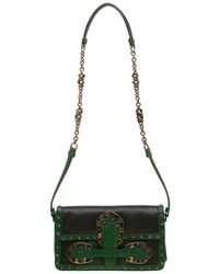 c9642411903c Bottega Veneta - Green Lizard And Leather Limited Edition Shoulder Bag -  Lyst
