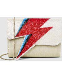 Sarah's Bag - Bowie Beaded Shoulder Bag - Lyst