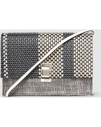 Proenza Schouler - Woven Leather Small Lunch Bag - Lyst